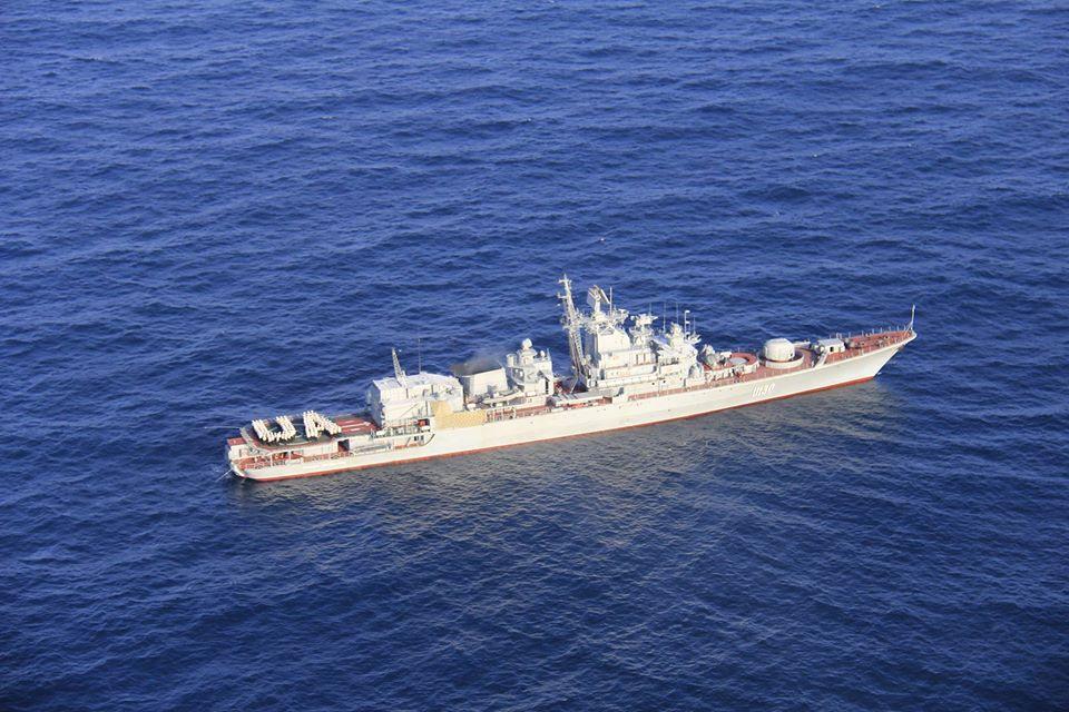 25 років тому флагман національного флоту розпочав свій перший похід в Індійський океан