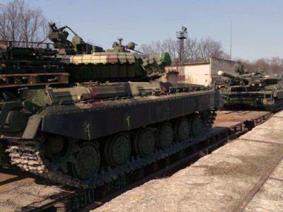 «Прокачані» у Львові Т-64 відправилися до війська