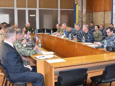 В Одесі відбулася зустріч Командування Військово-Морських Сил ЗС України з представниками іноземних військових відомств