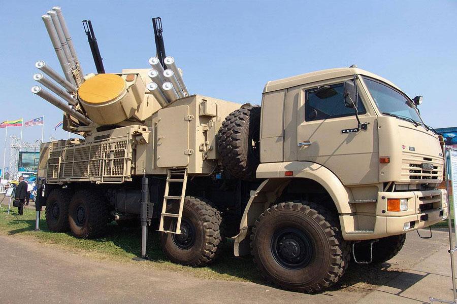 Ударний дрон Туреччини знищив у Сирії новий російський комплекс «Панцир-С1»