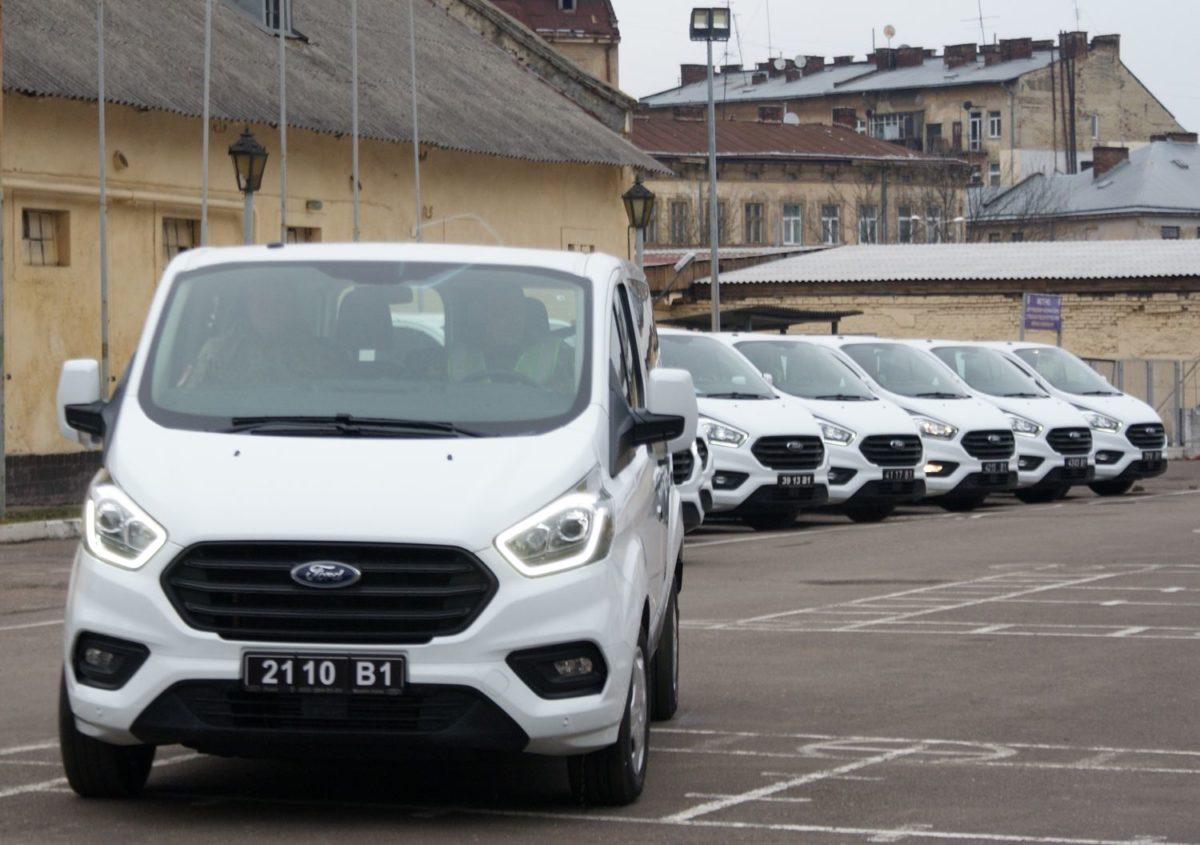 За сприяння канадських партнерів автопарк ВСП поповнили нові «Форди»