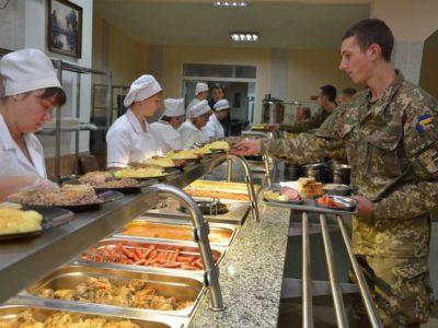 Міністерство оборони України проводить опитування щодо харчування військовослужбовців