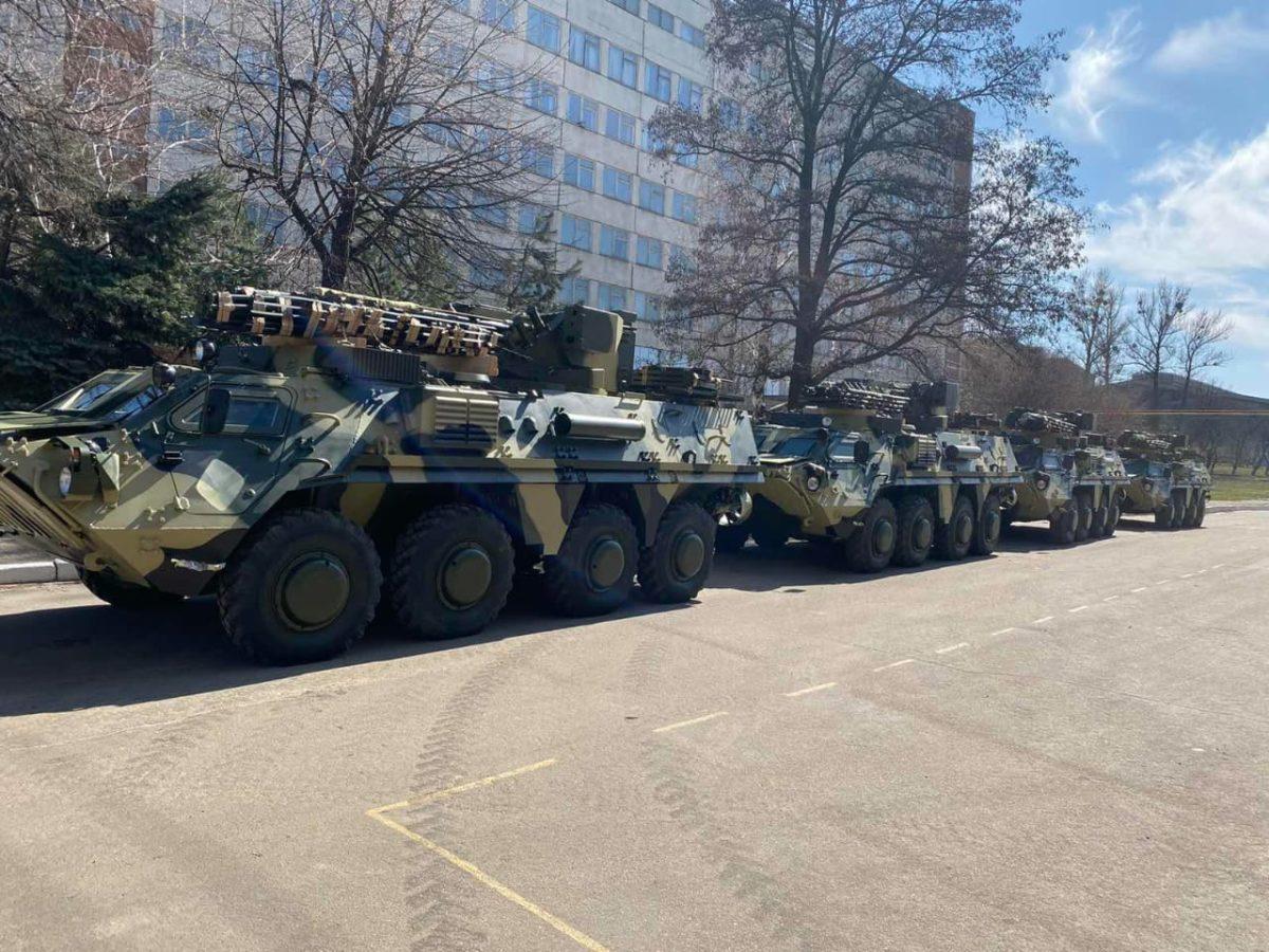 БТР-4Е посилили українське військо