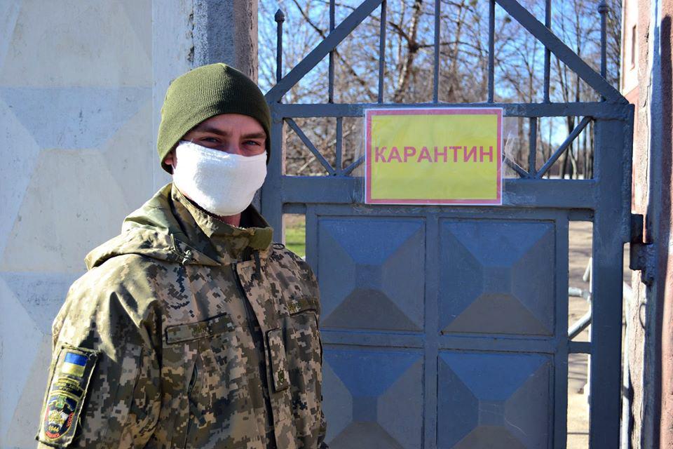 Харківський гарнізон: 10-й день профілактики коронавірусу COVID-19
