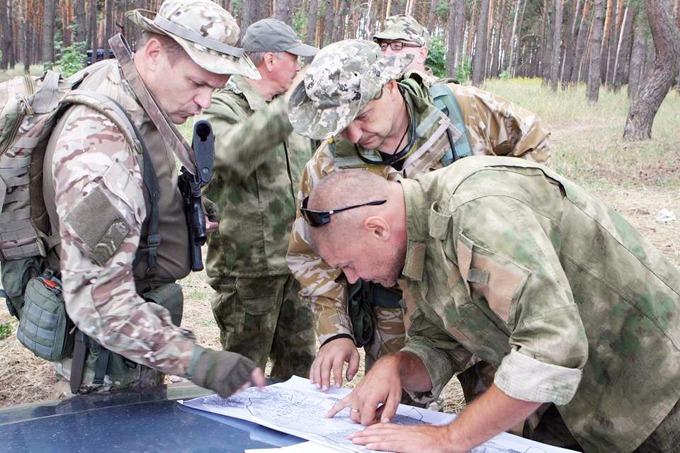 Зміївський батальйон тероборони може вразити ворога, як гадюка на його шевроні