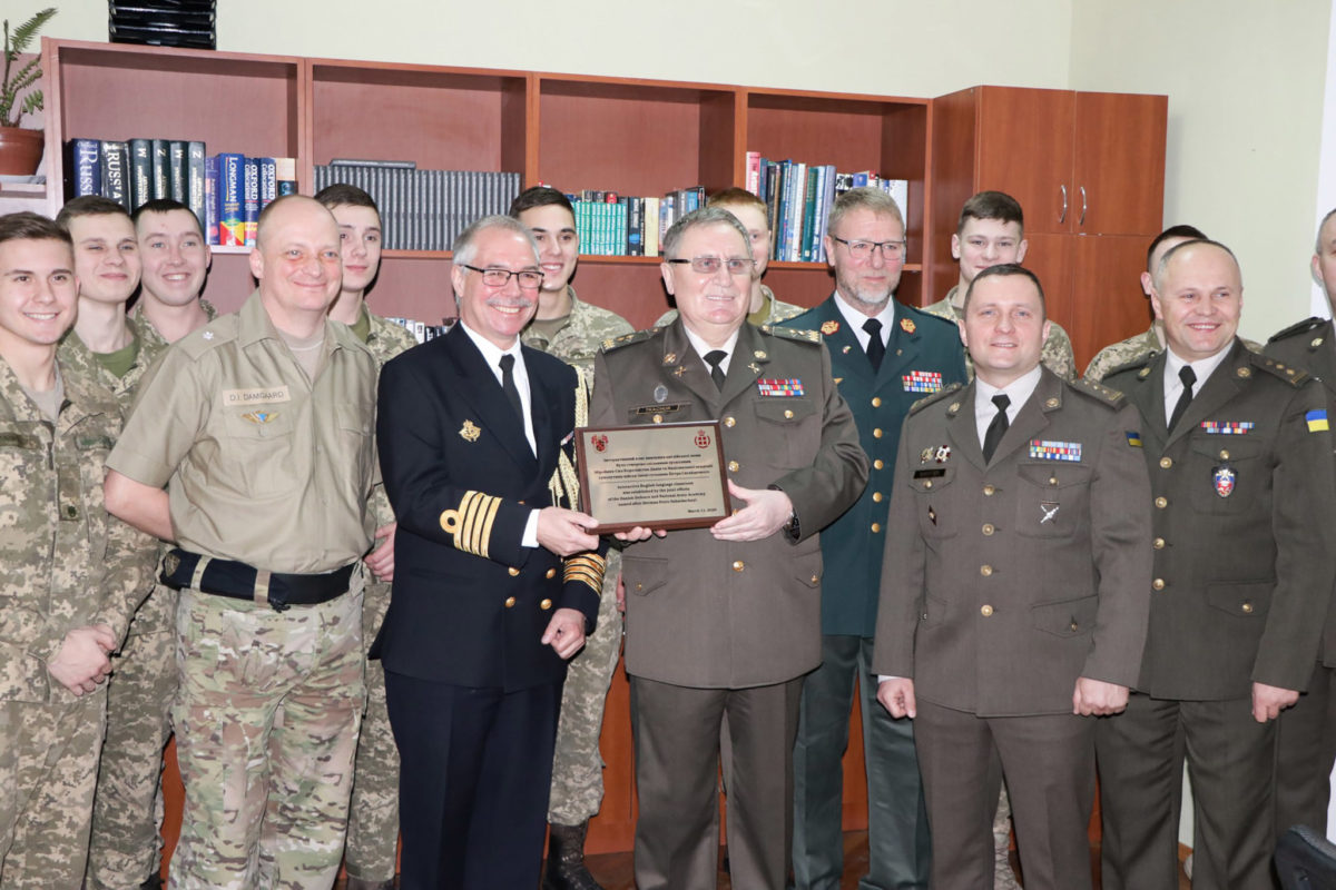 «Данський» клас англійської відкрито в Національній академії сухопутних військ