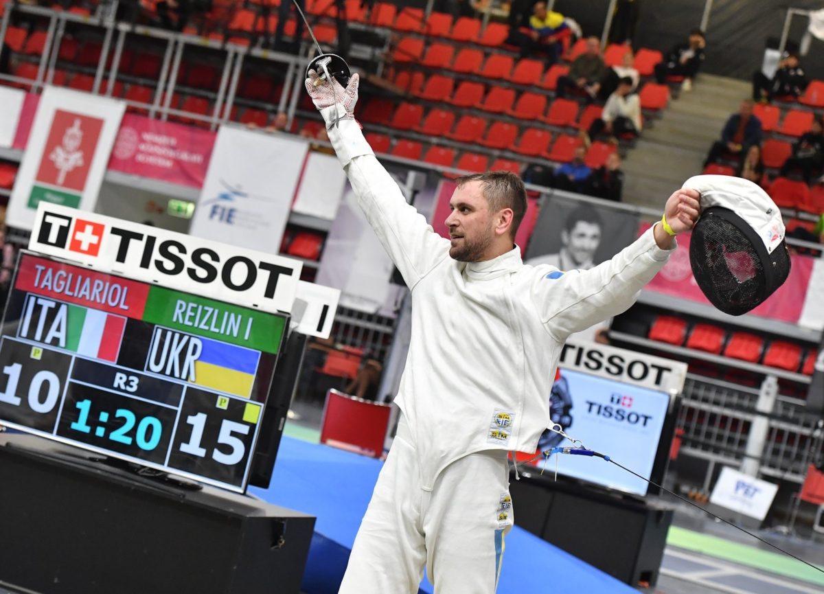 Армійський шпажист Ігор Рейзлін здобув «бронзу» на турнірі в Будапешті