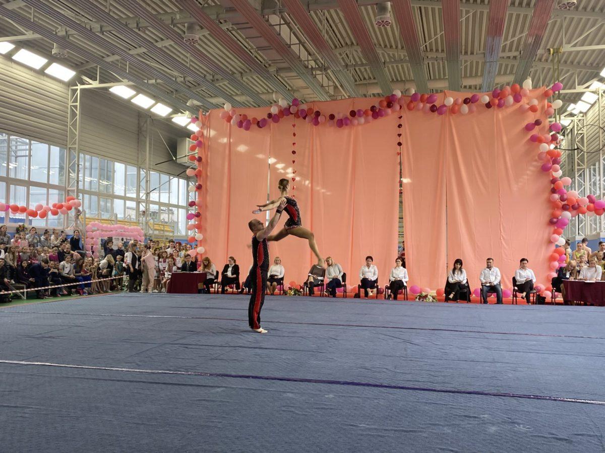 Міжнародний турнір зі спортивної акробатики стартував на базі ЦСК ЗС України