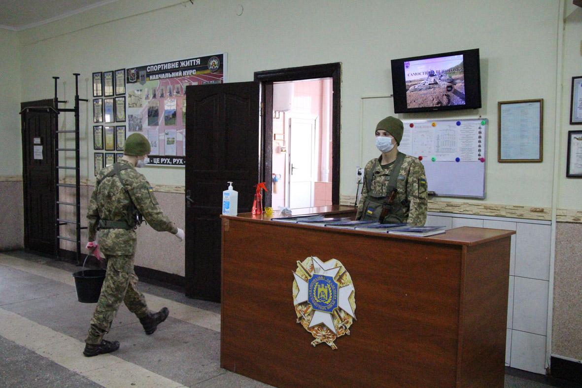 Операція «stop коронавірус», Або як у Національній академії сухопутних військ запобігають поширенню СОVID-19