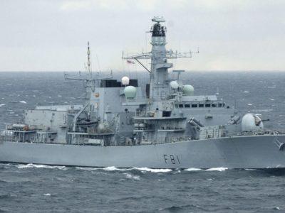 Біля берегів Великої Британії помічені російські військові кораблі