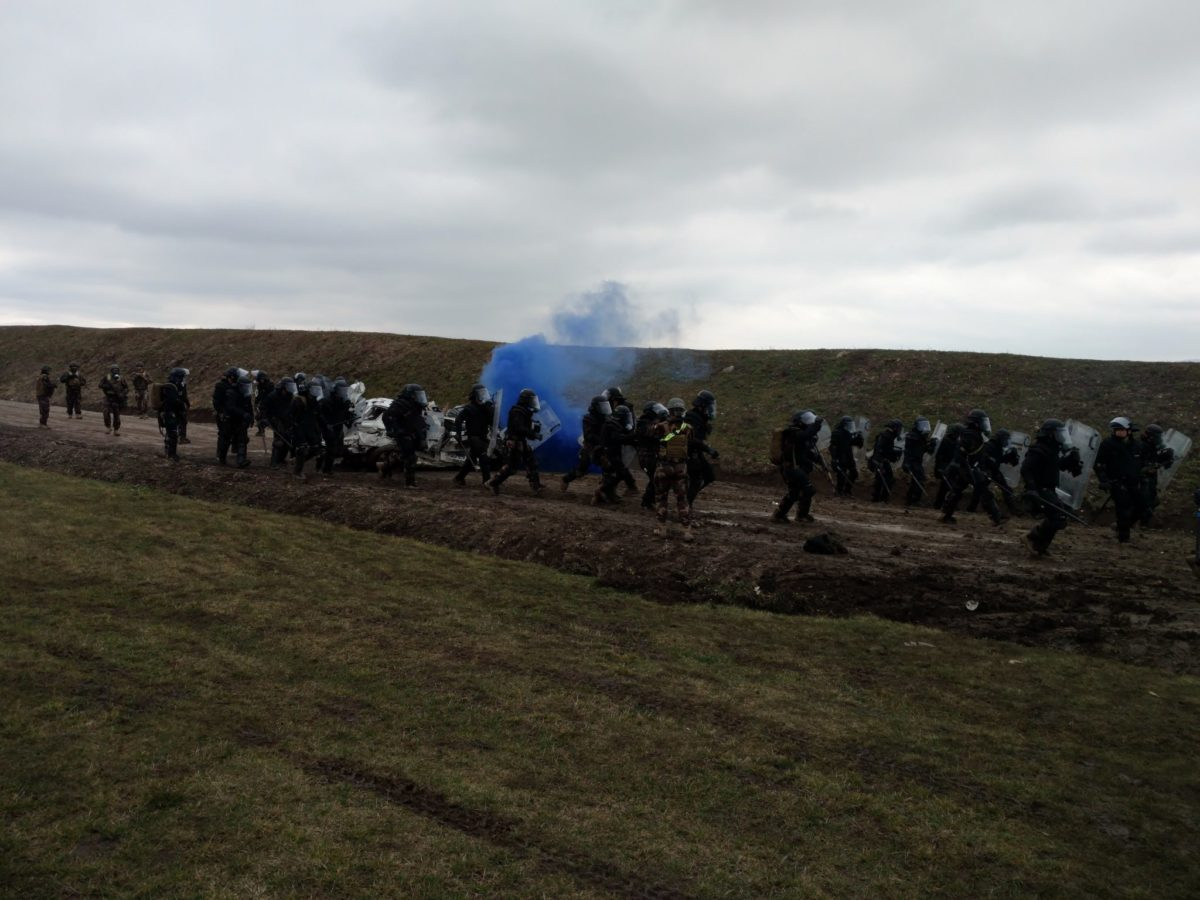 У Косові відбулися спільні навчання українських і угорських миротворців