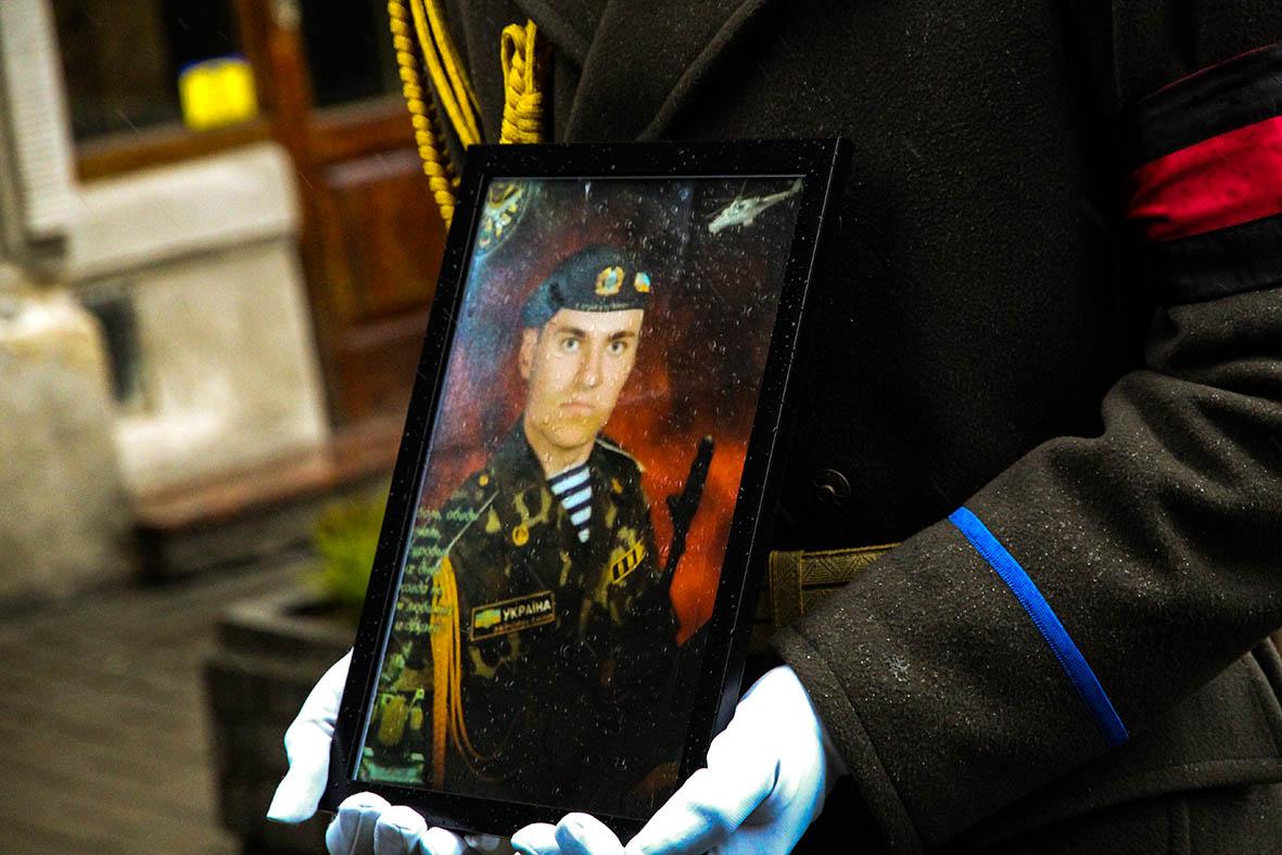 Львів попрощався з воїном 72-ї бригади Чорних Запорожців Ігорем Гавриляком