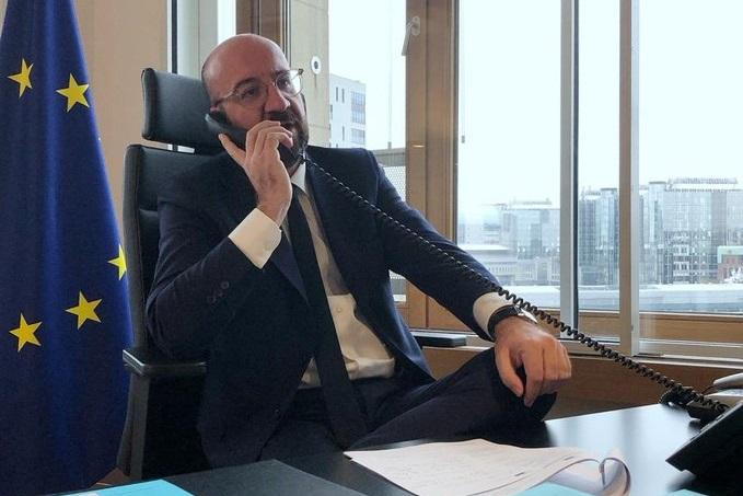 Голова Європейської ради телефоном переконував Путіна припинити вогонь у Сирії