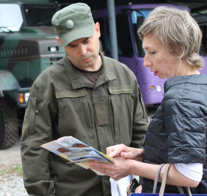 Інформаційні вісники, телефон довіри та різноманітна допомога українським захисникам на час карантину