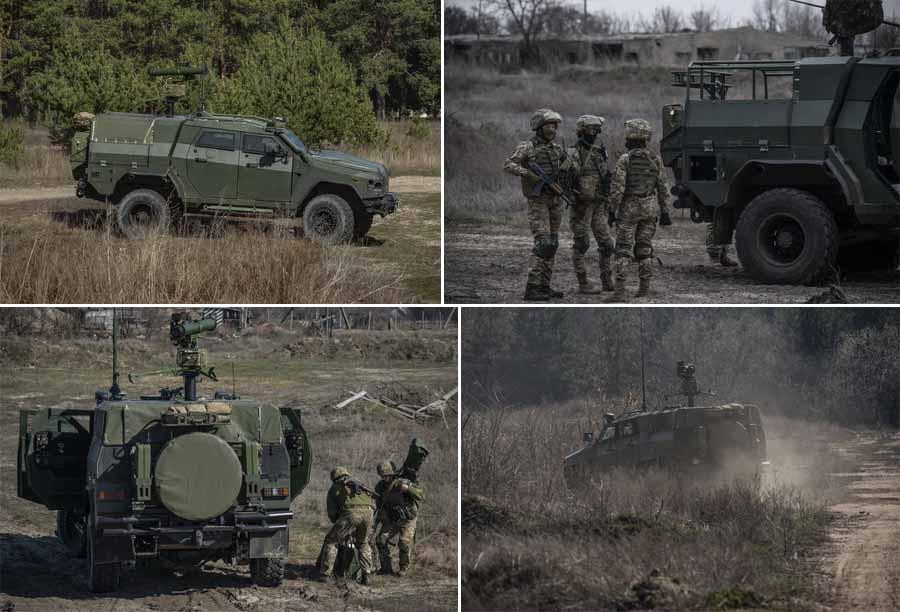 Бронеавтомобілі «Новатор» із ПТРК «Стугна-П» надходять у війська
