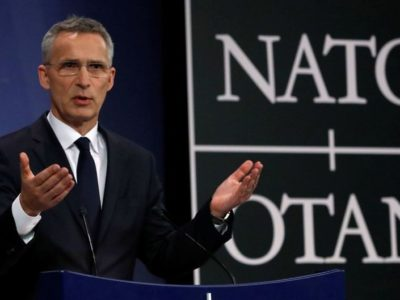 Столтенберг висунув ідею створення «глобального НАТО»