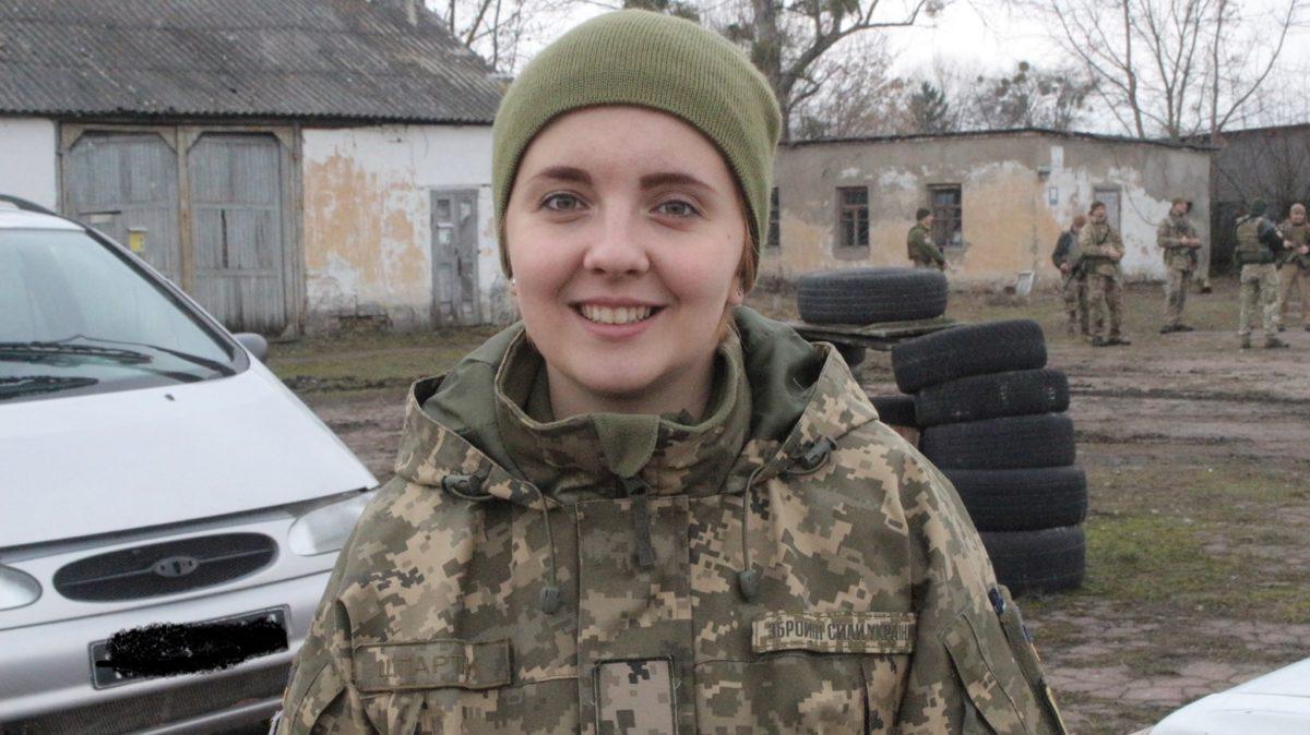 Анастасія Шпартак — перекладач, охоронець, воїн…