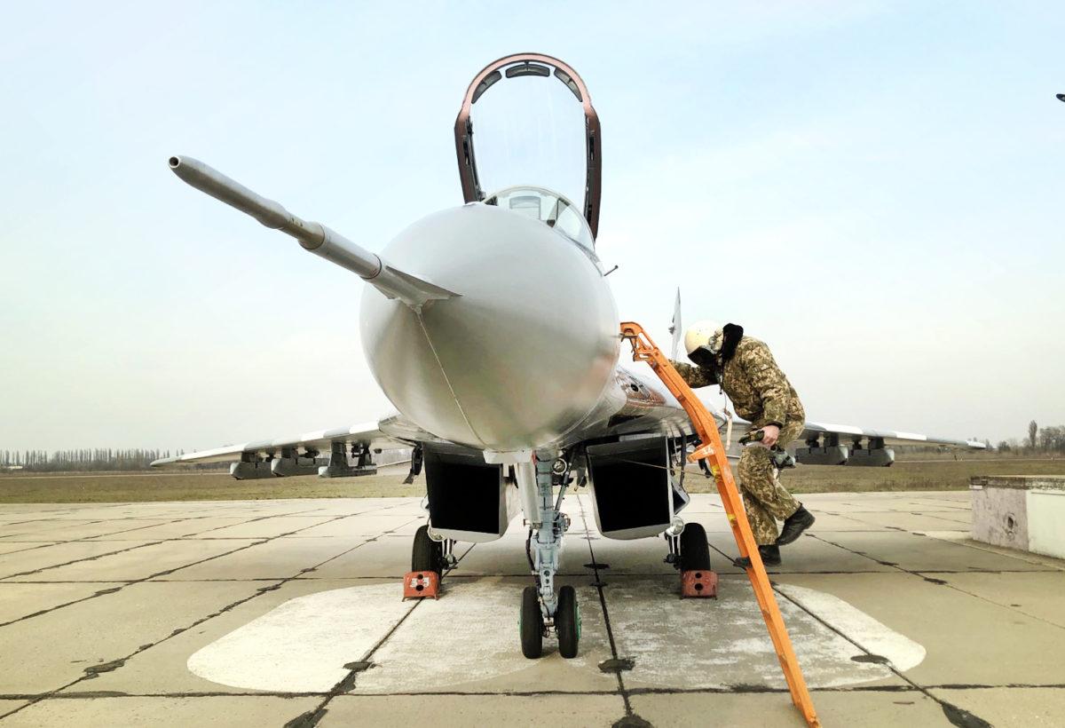 Ще один модернізований МіГ-29 поповнив бойовий склад авіації