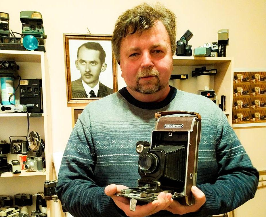 «Живий фотомузей» Романа Метельського завжди гостинний до військових