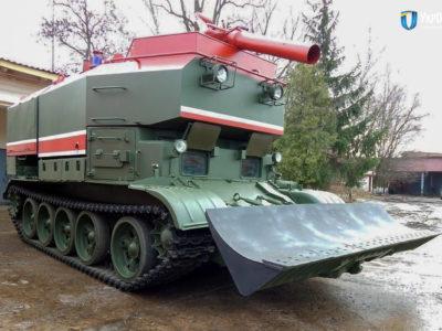 Військо отримало чергову партію пожежних танків ГПМ-54
