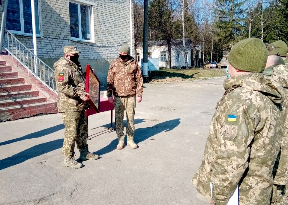 Воїни-розвідники відзначили день створення підрозділу