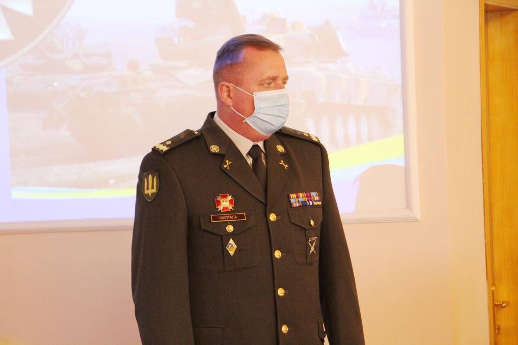 Командувачем військ ОК «Захід» призначено Героя України генерал-майора Сергія Шапталу