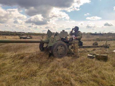 Сто відсотків гармашів під час навчань тренуються в засобах захисту