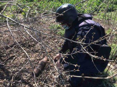 На Донбасі за тиждень знешкоджено 268 вибухонебезпечних предметів