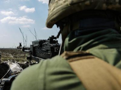 Доба в ООС: 1 ворожий обстріл, втрат серед українських захисників немає