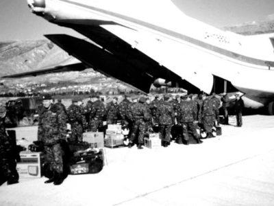 Обмежений гірський аеродром «Мостар» українським пілотам підкорився з першого разу