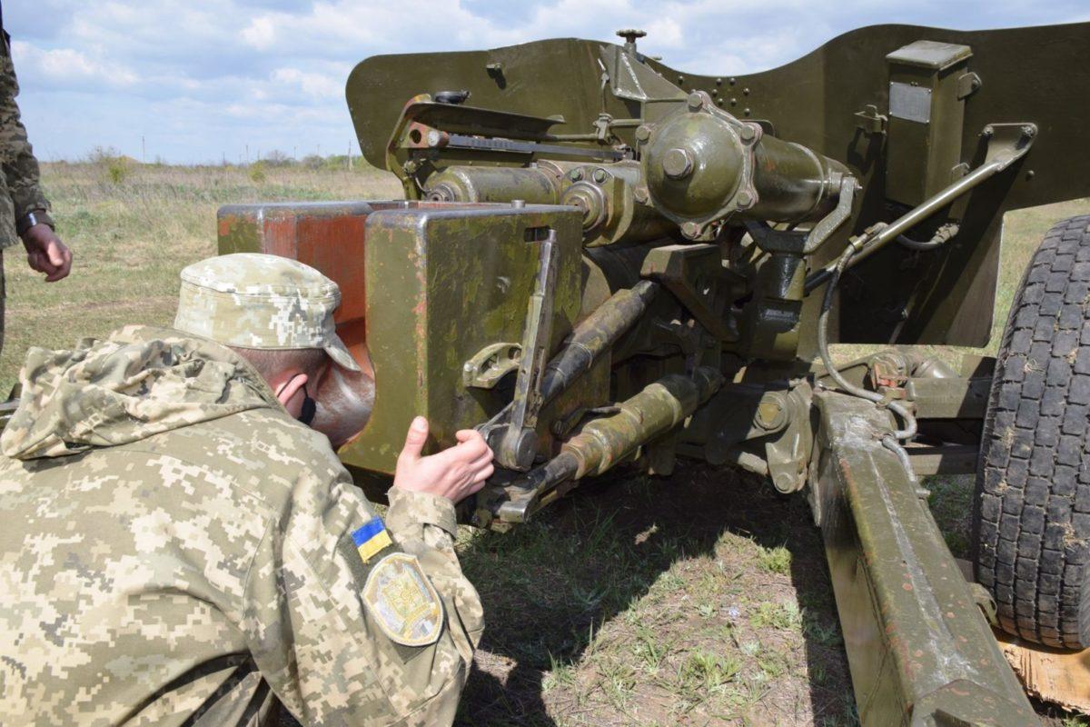 Майбутні артилеристи на шляху до титулу «богів війни»