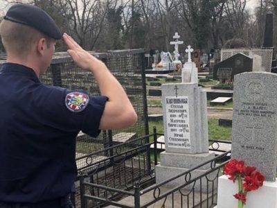 В Одесі вшанували пам'ять загиблого під час Другої світової британського воїна