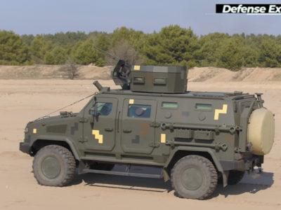Бронеавтомобіль «Козак-2М1» прийнято на озброєння