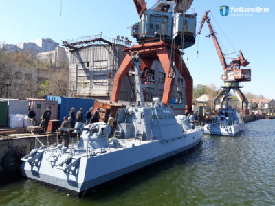 Миколаївський суднобудівний завод спустив на воду катери «Вишгород» і «Нікополь»