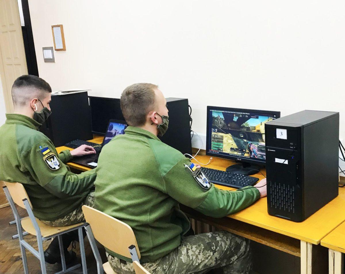 Курсанти ВІТІ на карантині випробовують себе у кіберспорті