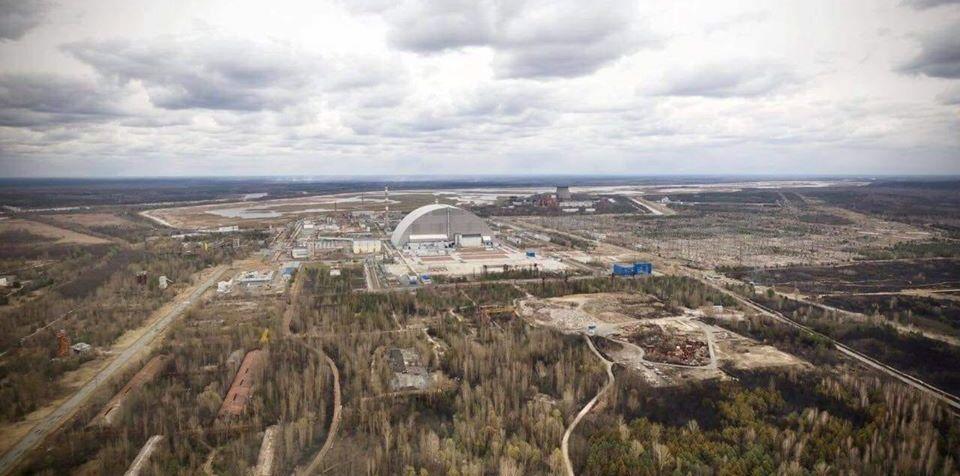 Лісову пожежу в Чорнобильській зоні відчуження локалізували