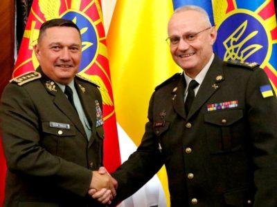 Головнокомандувач ЗС України обговорив із начальником ГШ ЗС Словацької Республіки подальше військове співробітництво