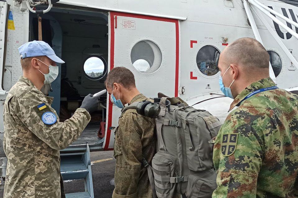 Попри загальносвітовий карантин, українські вертолітники в Африці продовжують виконувати миротворчі завдання