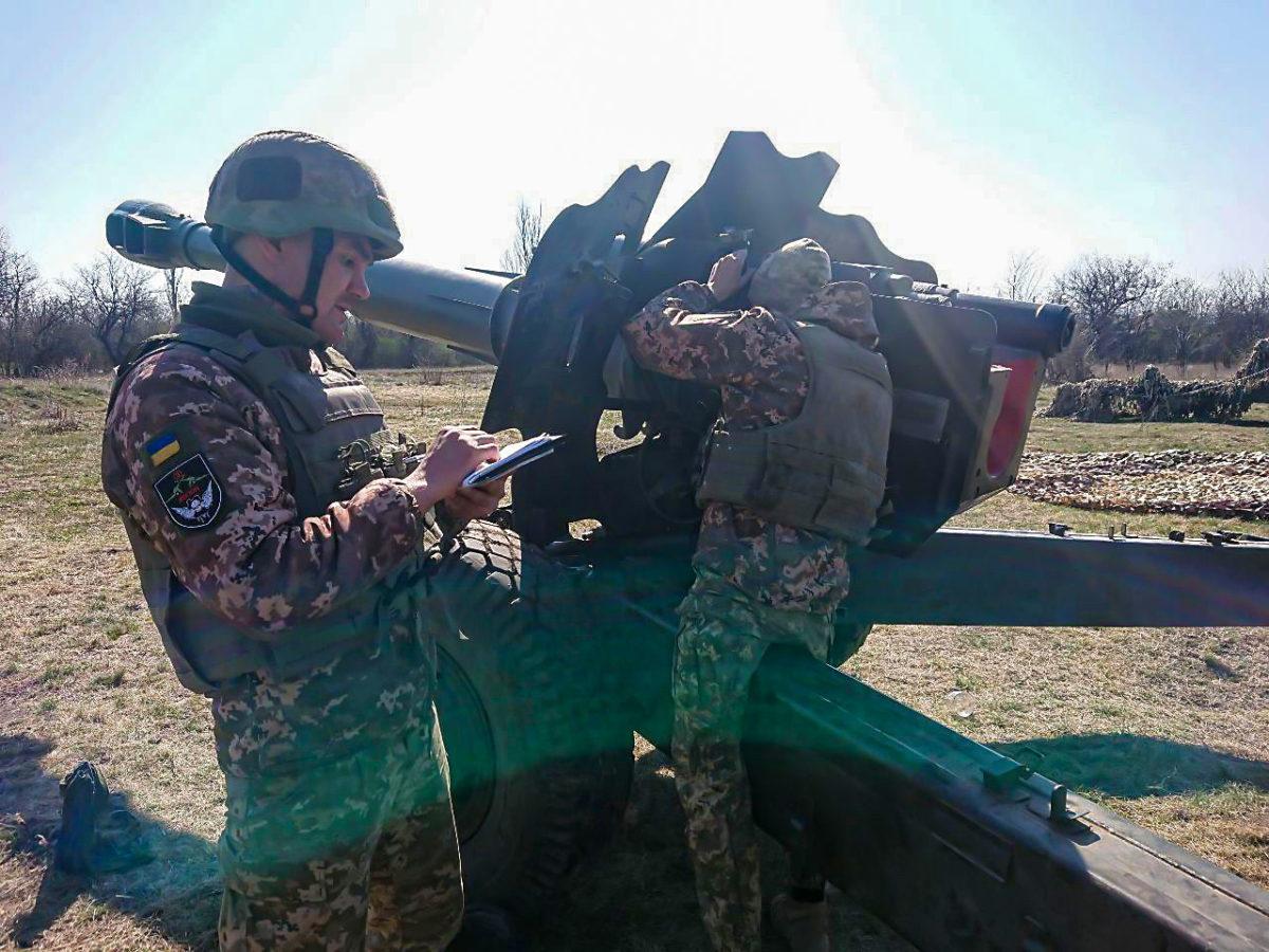 Артилерійські розрахунки діяли в жорстких умовах раптової зміни обстановки