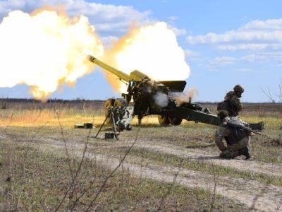 Стріляти по-новому: артилеристи відпрацьовують методи ведення вогню за стандартами НАТО