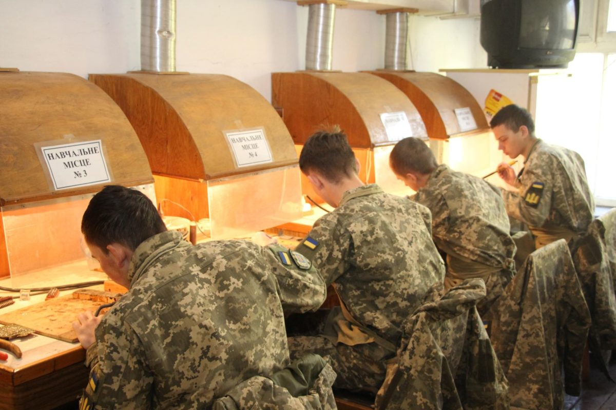У Військовій академії (м. Одеса) через карантин навчальну практику організували в самому виші