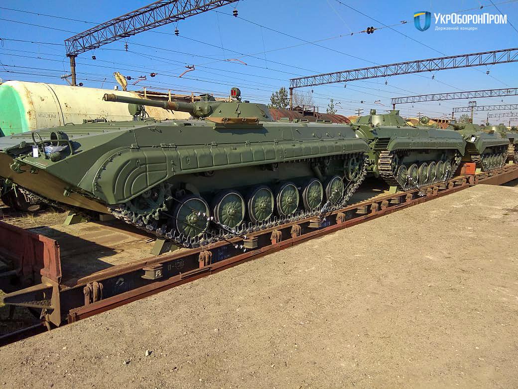 37 одиниць БМП-1: чергова партія бронетехніки для нашого війська