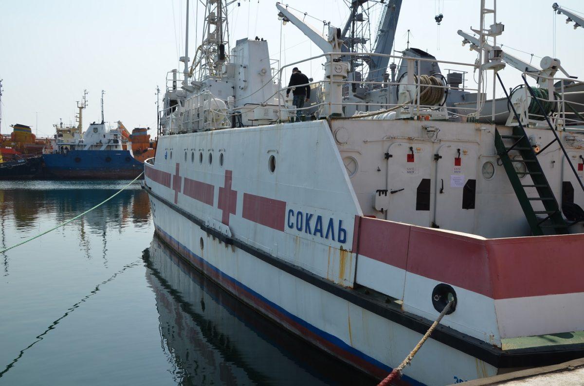 Санітарний катер «Сокаль» підготовлено для боротьби з коронавірусом