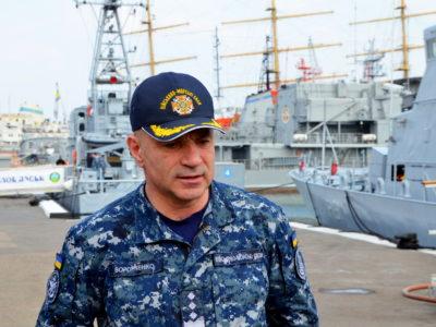 Санітарну обробку кораблів ВМС ЗС України проводять щодня