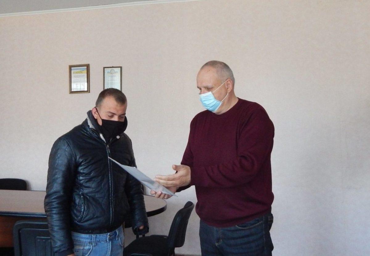 Ветерану АТО з Вінниччини вручили ордер на квартиру