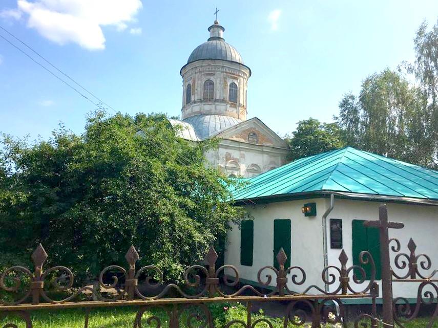 Будиночок родини Лисянських біля Богословської церкви, де нині створюється меморіальний музей мореплавця.