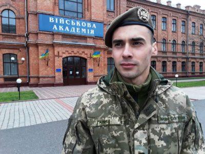 Курсант військової академії затримав порушника