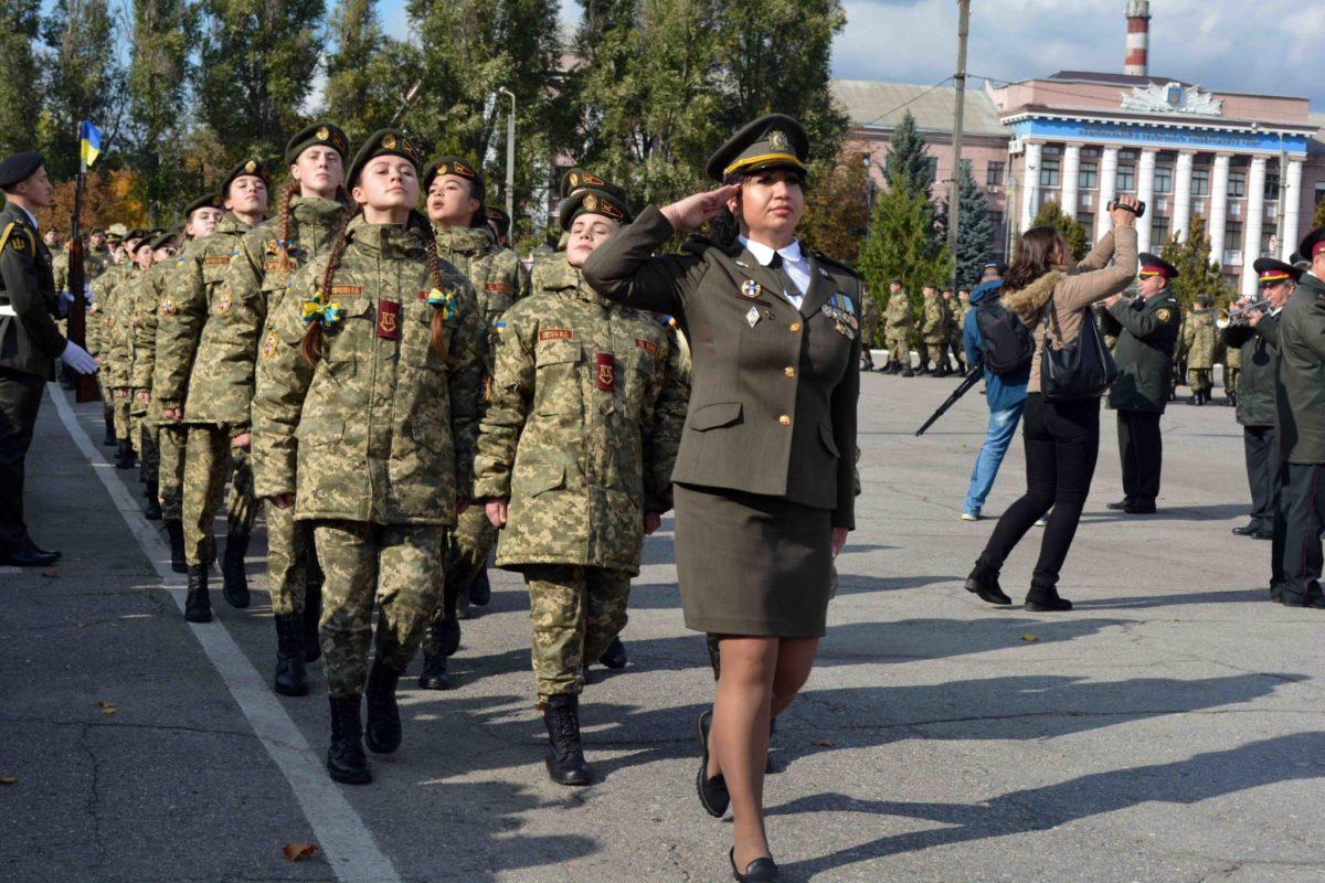 Дівчат серед харківських кадетів буде вдвічі більше