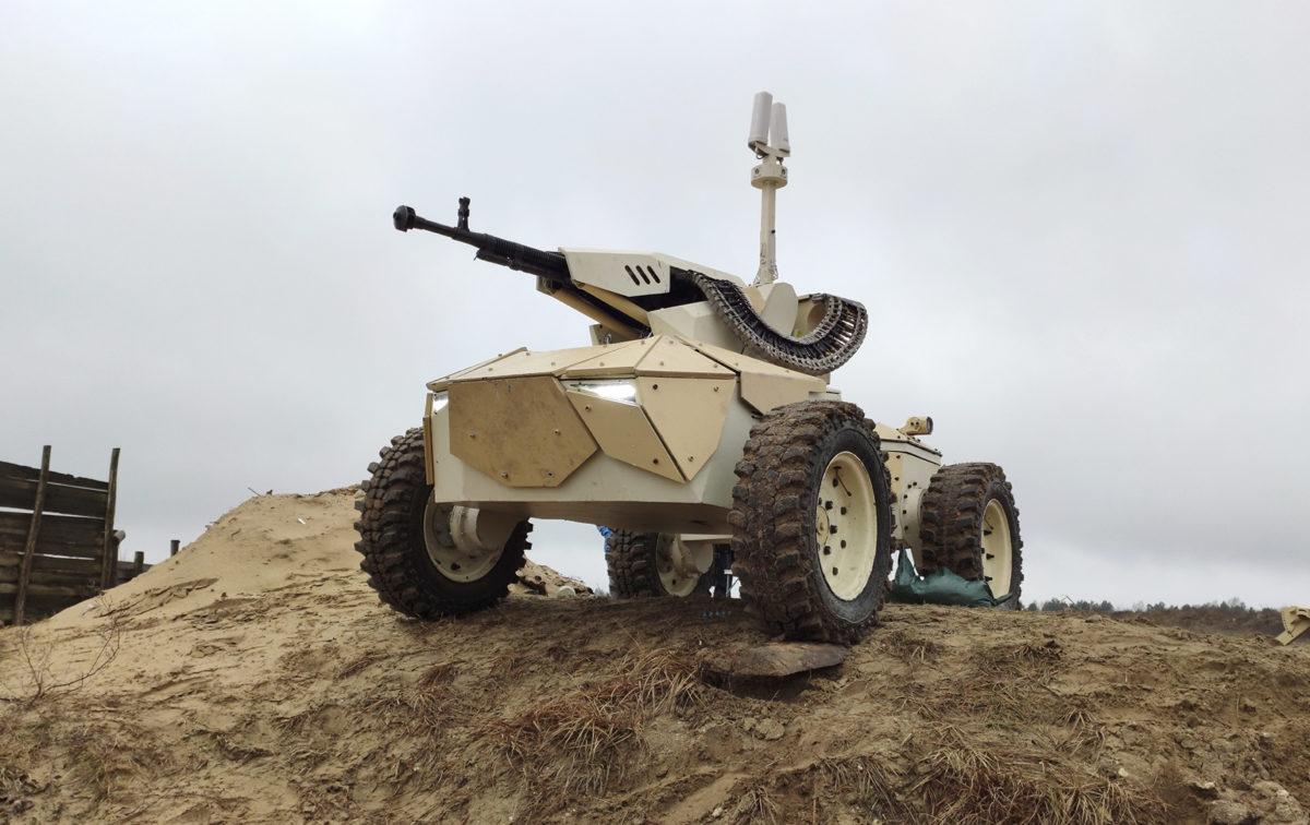 Роботи на полі бою – вже не фантастика