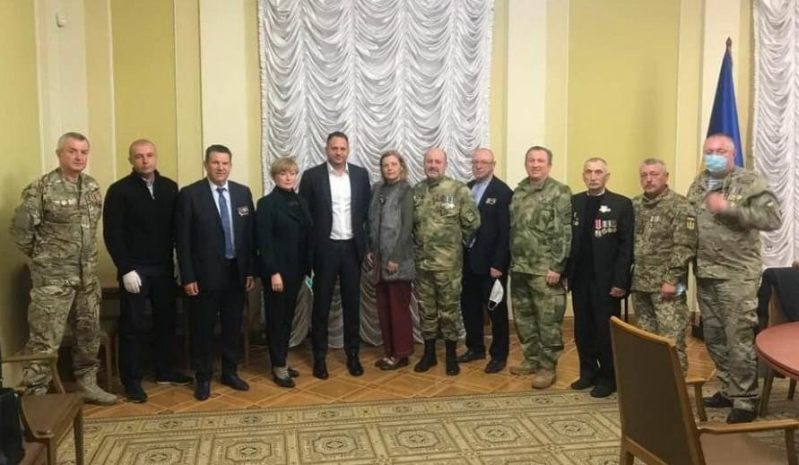 В Офісі Президента розглядають можливість створення експертної ради за участі ветеранів бойових дій